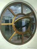 Sistemas redondos de aluminio artísticos únicos de Windows y de las puertas (BHA-CWA37)