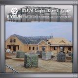 창고를 위한 2개의 지면 이동할 수 있는 별장을 건축하는 조립식 강철 구조물