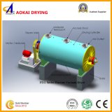 Machine de séchage d'hydrocarbure de râteau horizontal de vide
