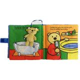 Hotsale juguetes de bebé Libro de felpa para recién nacido