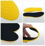 サイズラインが付いているフィートのバランスの方法デザインPUの靴の靴の中敷