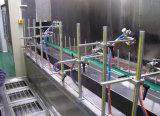 Linha de revestimento automática eletrostática da pintura com pistola do pó com forno de secagem