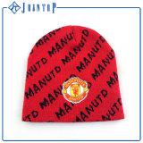 Red Hat Beanie оптовая продажа, пользовательские вязки акриловый горловины износа