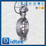 Тип клапан-бабочка вафли нержавеющей стали Didtek с Chainwheels