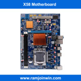 Cartão-matriz Desktop de DDR3 X58 para o server