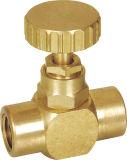 Запорный клапан с поддельными латунь