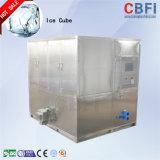 3 toneladas automáticas del cubo de hielo comestible del producto de hacer hielo del fabricante