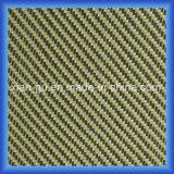tela del híbrido de la fibra del carbón de PARA Aramid de la tela cruzada 190g