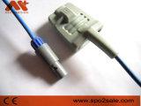 Mindray Pm9000、Mec-1000のMec-1200 6pin40degree SpO2センサー、