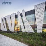 Recinzione tagliata laser decorativa dello schermo del metallo del comitato di alluminio della facciata