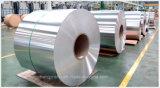 Bande d'aluminium et en bobines pour le tuyau de plastique en aluminium
