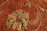 Tissu de capitonnage estampé floral de Chenille (fth31074)