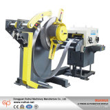 Presionar el alimentador 3 del Nc de la máquina en 1 con la enderezadora y la enderezadora de Recoiler Uncoiler (MAC2-300)