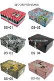 Rectángulo rectangular del estaño de los regalos de las ventas calientes con el bloqueo