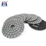 コンクリートのためのダイヤモンドの適用範囲が広い磨く淡黄色のパッド
