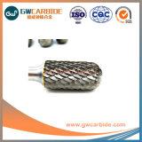 A, B, C, H bavures rotatif de carbure de tungstène en aluminium