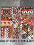 Nueva azulejo decorativo de cerámica impreso de las ideas mano para la pared y el suelo
