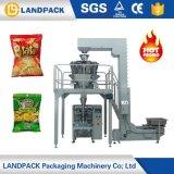 El llantén seco automático de la patata del alimento saltara la empaquetadora Nuts de las pastas de la carne del alimento de bocado 500g 1000g