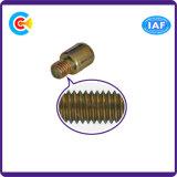 DIN и ANSI/BS/JIS Carbon-Steel/Stainless-Steel для защиты от краж оцинкованных Zinc-Plated Раунда с плоским лезвием рукой винты