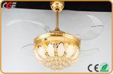 Het hete Model52W LEIDENE van de Verkoop Licht van de Plafondventilator met de Lampekap van Lotus