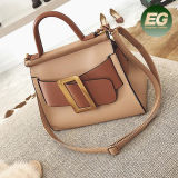Neuer Entwurfs-Handtaschen-Farben-Zusammenstoßtote-Beutel-Frauen-Einkaufen-Handbeutel von der China-Fabrik Sy8666