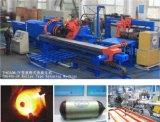 Tipo triplice flusso di filatura del rullo di potere del tubo di CNC che forma macchina
