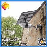 Luz al aire libre europea de la pared del jardín de la energía solar LED con el altavoz del Azul-Diente