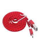 Wholesales Noodle coloridos de alta qualidade cabo de dados USB
