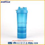 Bottiglia di plastica di sport di marchio su ordinazione caldo di vendita