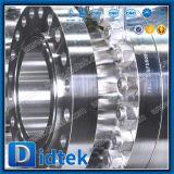 Didtek F51 высокого давления из нержавеющей стали для двусторонней печати мягкой уплотнительной цапфу шарового клапана