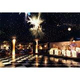Fête d'anniversaire noire et blanche de contre-plaqué en bois chaud dernier cri Dance Floor
