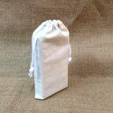 Fördernder Baumwollbeuteldrawstring-organische Beutel für Geschenk-Verpackung