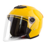 Vintage 2021 Shell de ABS de piezas de moto Casco de cara abierta