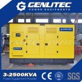 200kw silencioso generador diesel 250 kVA con Weichai motor (GWC250S)