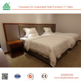マホガニーのツイン・ベッド部屋の家具の寝室セット