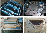 Coche que controla el dispositivo para saber si hay piezas de metal plásticas de la asamblea automotora