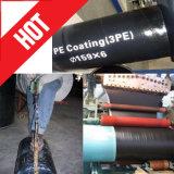 Tubo de acero subterráneo Recubrimiento anticorrosivo Recubrimiento de tuberías Película de PE Cinta aplicada en frío