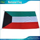 3*5FT Poliéster País banderas del Pabellón de Kuwait (J-NF05F09046)