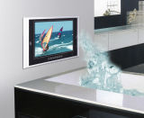 防水IP68の組み込みの防水スピーカー、リモート・コントロールの完全な視野角の浴室TV