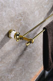 Nieuw Ontwerp zf-561 de Dubbele Toebehoren van de Badkamers van de Jade van de Staaf van de Handdoek