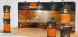 カスタマイズされたサイズのロゴの展示会展覧会のアルミニウムポップアップ表示ブース