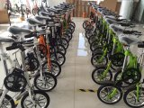Bike стали углерода 14inch складывая