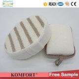 Großhandelsbambusfaser BADEKURORT Produkt-Baby-Dusche-Geschenk-Indien-Schwamm-Handschuh