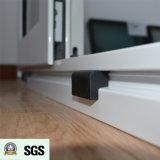 Ventana de desplazamiento de aluminio revestida del polvo blanco del color K01061