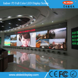 광고를 위한 실내 P3 풀 컬러 발광 다이오드 표시 스크린
