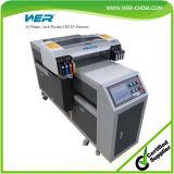 Desempenho estável A2 impressoras Flatbed UV do diodo emissor de luz de 420 * 1200 milímetros para o vidro