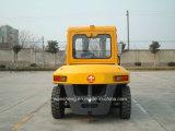 7 Diesel van de ton Vorkheftruck met Cabine en Japanse Motor Isuzu