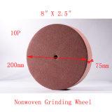 """8 10p """" X3 """" Oberflächen-klimatisierende Rad-nicht gesponnene Schleifscheibe"""