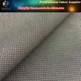 Nylon y poliéster mezclado Mini verificación tejido tejido (R0079)