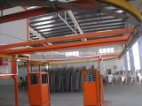 Linha de revestimento eletrostática do pó para cadeiras